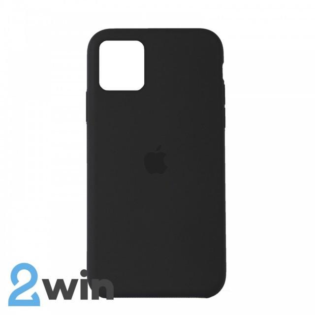 Чехол Silicone Case iPhone 11 Copy Olive (34)