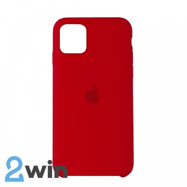 Чехол Silicone Case iPhone 11 Copy Red (14)