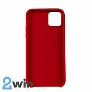Чехол Silicone Case iPhone 11 Copy Red (14), фото 2