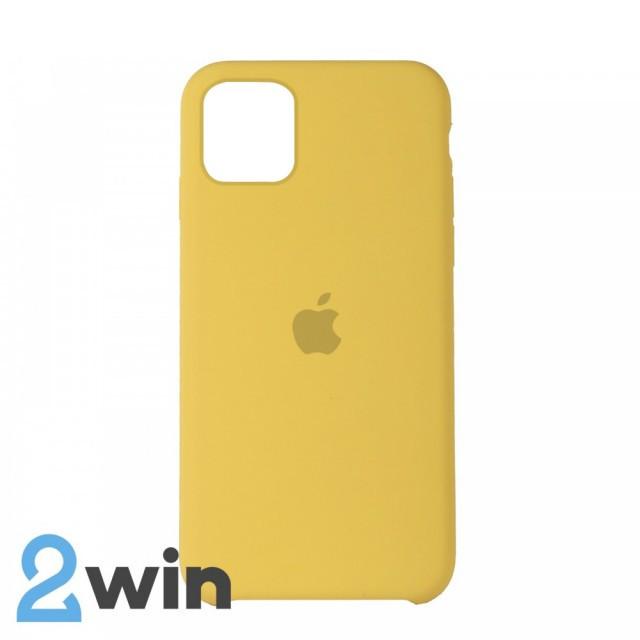 Чехол Silicone Case iPhone 11 Copy Yellow (4)