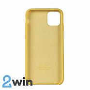 Чехол Silicone Case iPhone 11 Copy Yellow (4), фото 2