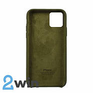 Чохол Silicone Case iPhone Copy 11 Pro Pine Forest Green (48), фото 2