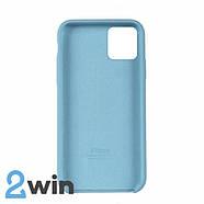 Чохол Silicone Case iPhone Copy 11 Pro Light Sea Blue (44), фото 2