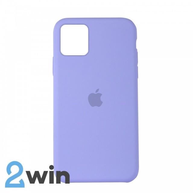 Чохол Silicone Case iPhone Copy 11 Pro White Purple (41)