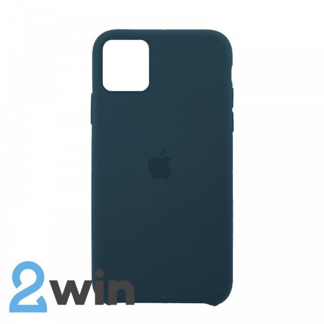 Чехол Silicone Case iPhone 11 Pro Max Copy Dark Green (49)