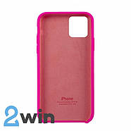 Чохол Silicone Case iPhone 11 Pro Max Copy Firefly Red (47), фото 2