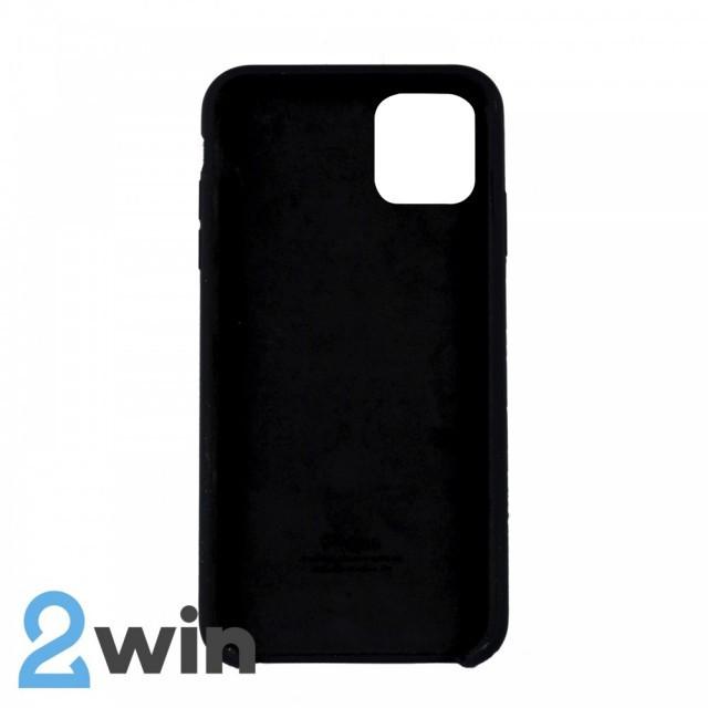Чехол Silicone Case iPhone 11 Pro Max Copy Black (18)