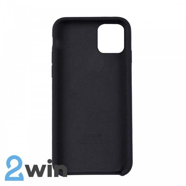 Чохол Silicone Case iPhone 11 Pro Max Copy Carbon Grey (15)