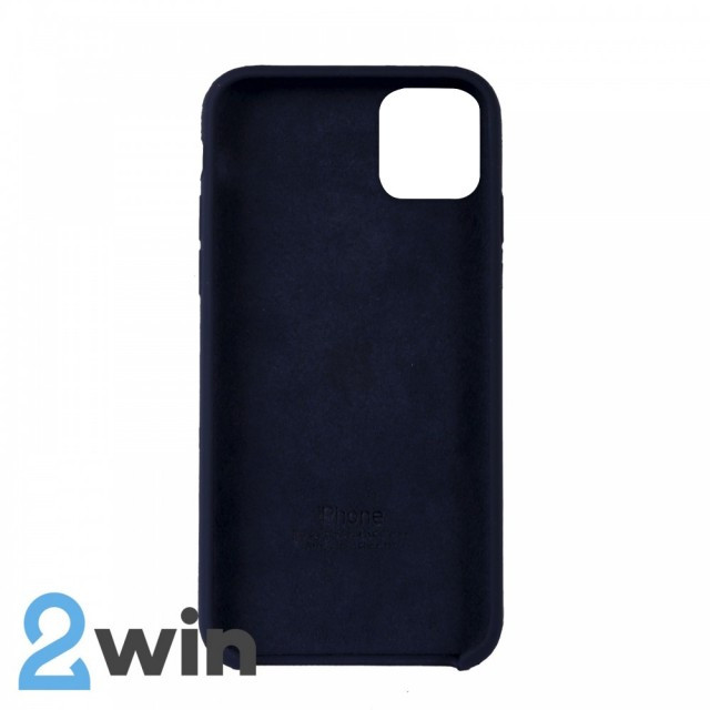 Чехол Silicone Case iPhone 11 Pro Max Copy Midnight Blue (8)