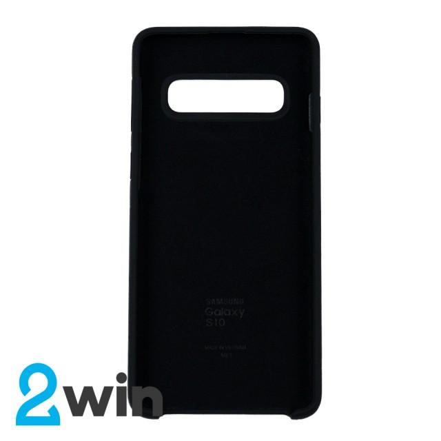 Чохол Silicone Case Original Samsung S10 Чорний