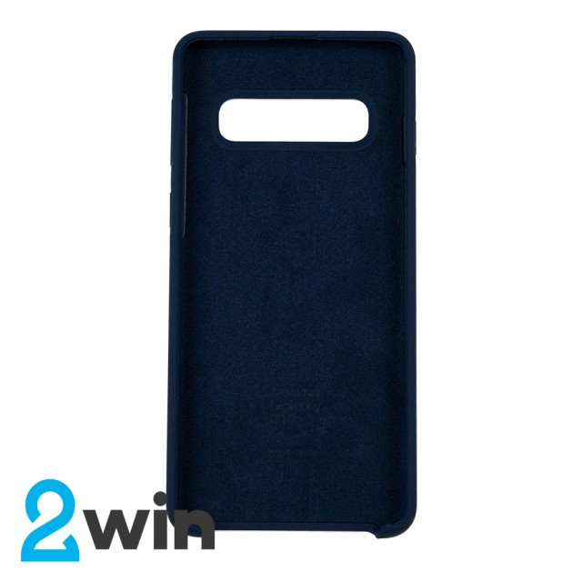Чехол Silicone Case Original Samsung S10 Синий