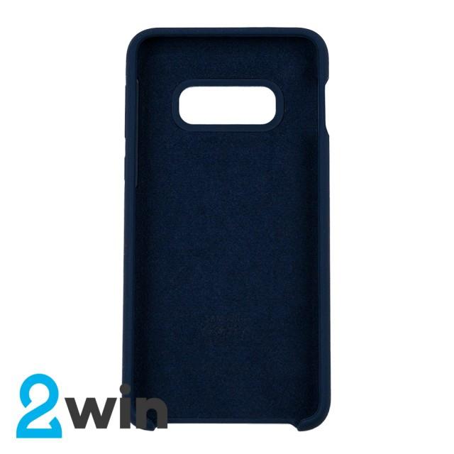 Чехол Silicone Case Original Samsung S10e Синий
