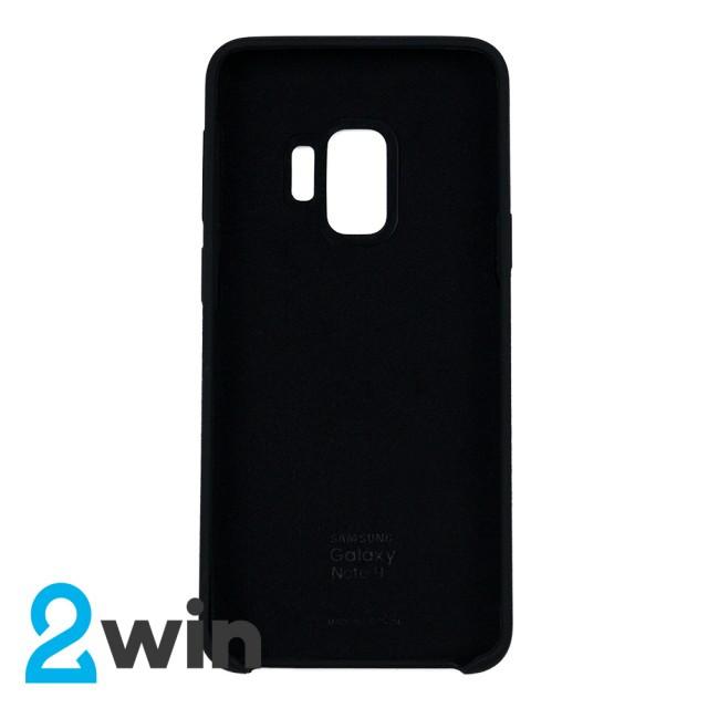 Чехол Silicone Case Original Samsung S9 Черный