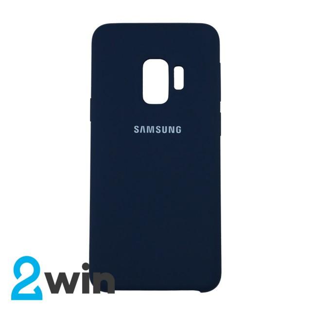 Чехол Silicone Case Original Samsung S9 Синий