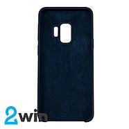 Чехол Silicone Case Original Samsung S9 Синий, фото 2