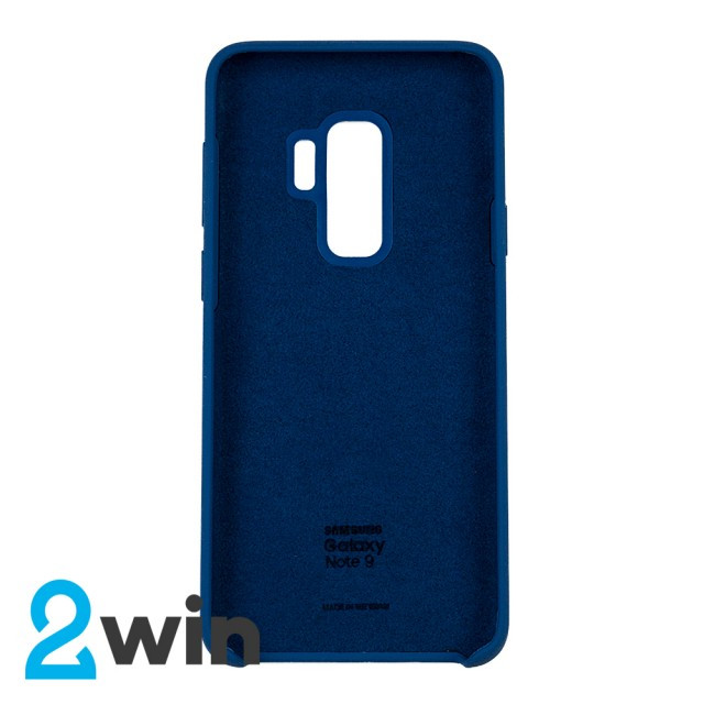 Чехол Silicone Case Original Samsung S9 Plus Морская волна