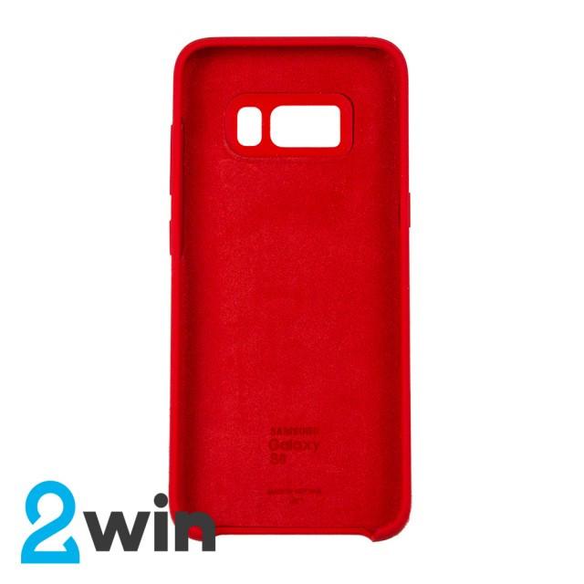 Чохол Silicone Case Original Samsung S8 Червоний