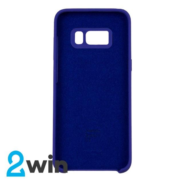 Чехол Silicone Case Original Samsung S8 Фиолетовый