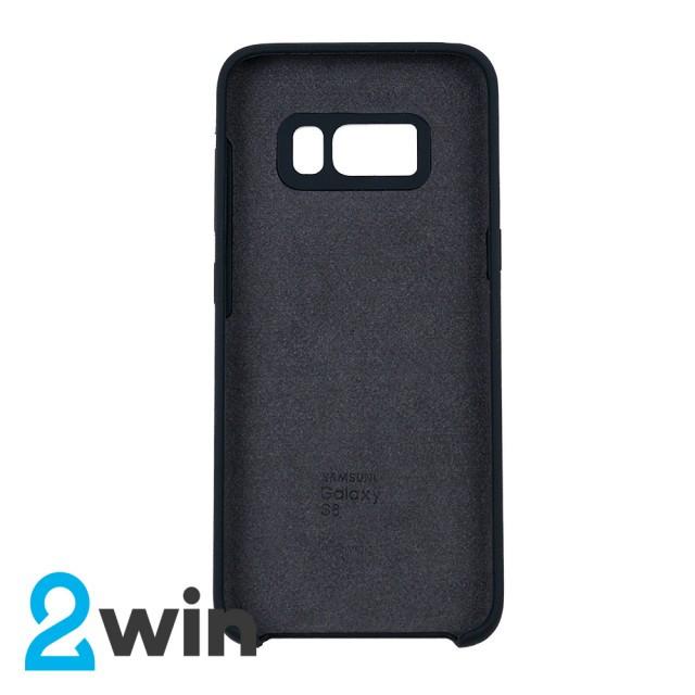 Чехол Silicone Case Original Samsung S8 Черный