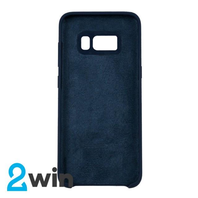Чехол Silicone Case Original Samsung S8 Синий