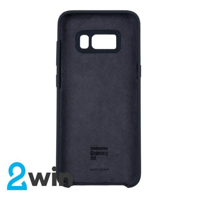 Чохол Silicone Case Original Samsung S8 Вугільний