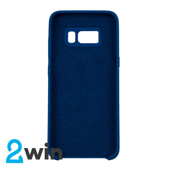 Чехол Silicone Case Original Samsung S8 Морская волна