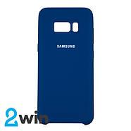 Чехол Silicone Case Original Samsung S8 Морская волна, фото 2