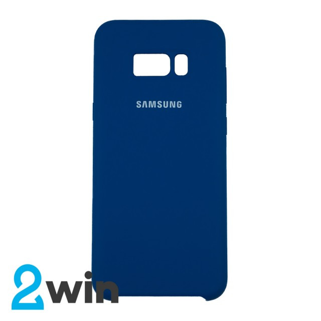 Чехол Silicone Case Original Samsung S8 Plus Морская волна