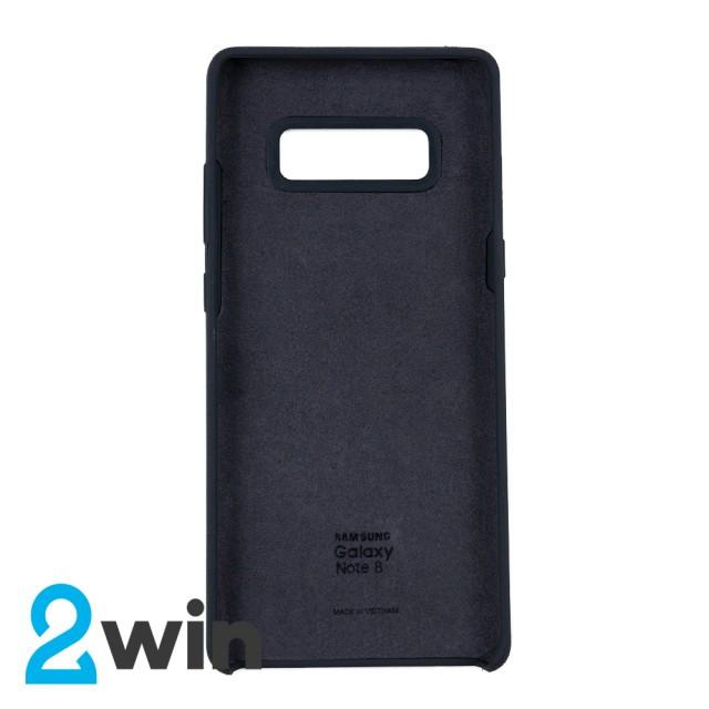 Чехол Silicone Case Original Samsung Note 8 Угольный