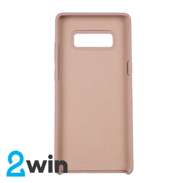 Чехол Silicone Case Original Samsung Note 8 Бледно-розовый