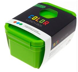"""Ланч-бокс """"Color Lunch Box"""" 850 мл. с наклейками"""