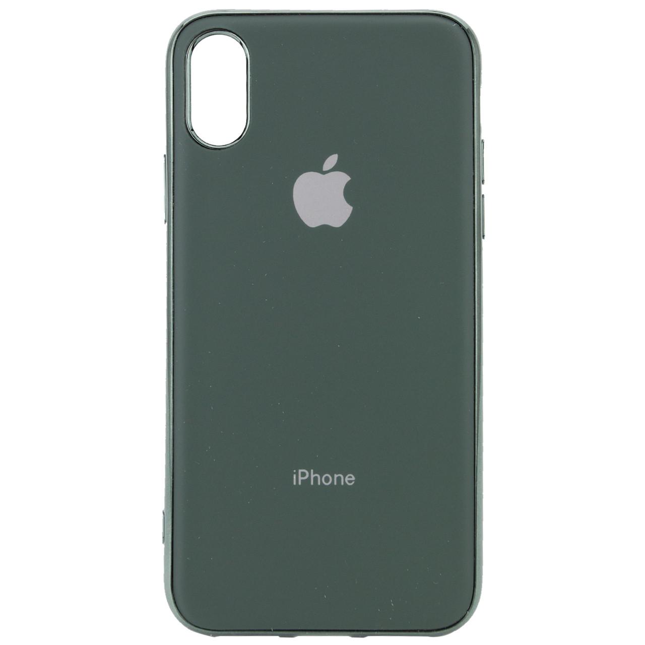 "TPU чехол Matte LOGO для Apple iPhone X / XS (5.8"")"