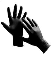 Перчатки Нитриловые 100 шт. (Черная) ХS (50пар)