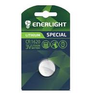 Батарейка ENERLIGHT LITHIUM CR 1620 BLI 1 (таблетка) 4823093502444