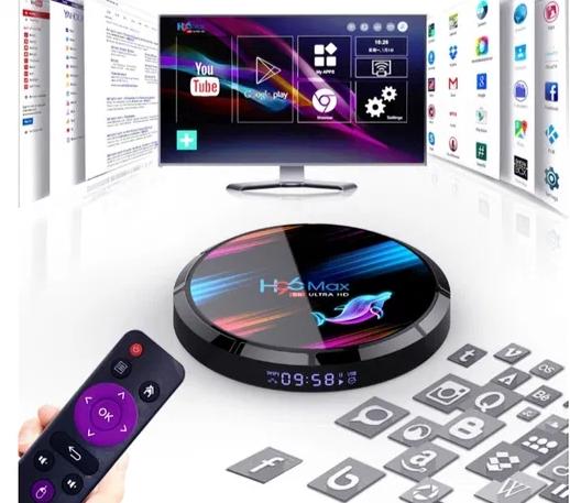 ⫸SmartTV H96 Max X3 4gb/32гб s905x3 PROx2TX3x96mini приставка Смарт ТВ