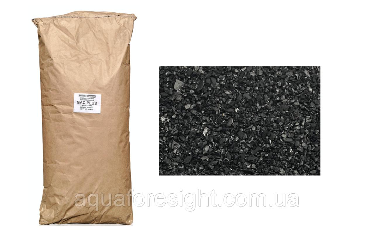 Активированный уголь GAC PLUS по сероводороду (аналог Centaur) - 25 кг