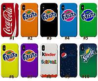 Чехол люкс этикетки Iphone X XS XS Max 10 10S 10S Max Принт