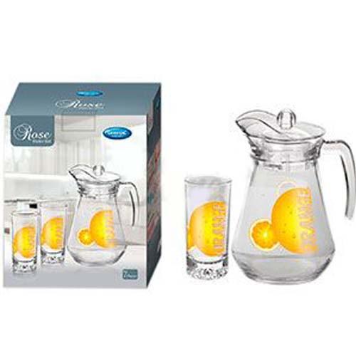 Набір для соку 7пр Апельсин 6*240мл+карафа 1,5 л TG/ 1029