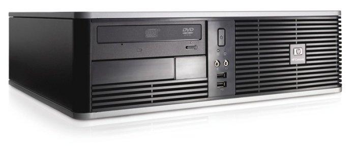 Системниый блок HP Compaq dc5700-SFF-Intel Pentium E2160-1.8GHz-2Gb-DDR2-HDD-80Gb-DVD-R- Б/У