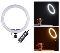 Кольцевая светодиодная Led Лампа 20 см Селфи лампа