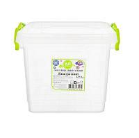"""Универсальный контейнер пищевой квадратный 1,55 л """"AL-Plastik"""" (аналог Lux)"""