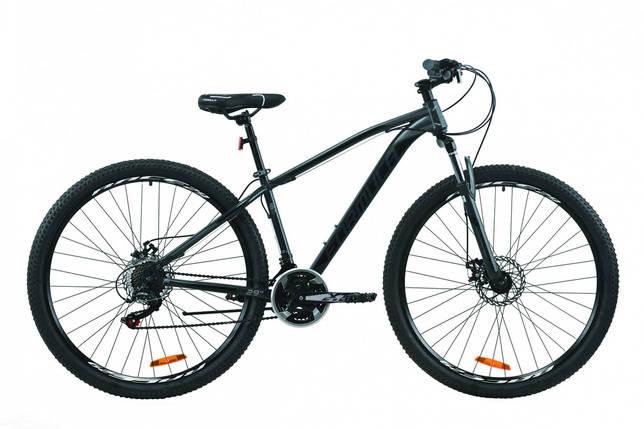 """Велосипед 29"""" Formula DRAGONFLY 2020 (серый с черным (м)), фото 2"""