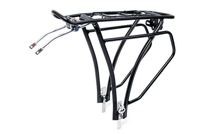 Багажник алюм. под велобаул регулируемое крепление KAIWEI KW-652-03 (черн.), фото 2