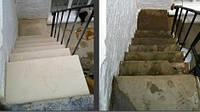 Реставрация лестницы из мрамора