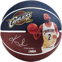 Мяч баскетбольный Spalding NBA Player Kyrie Irving Size 7