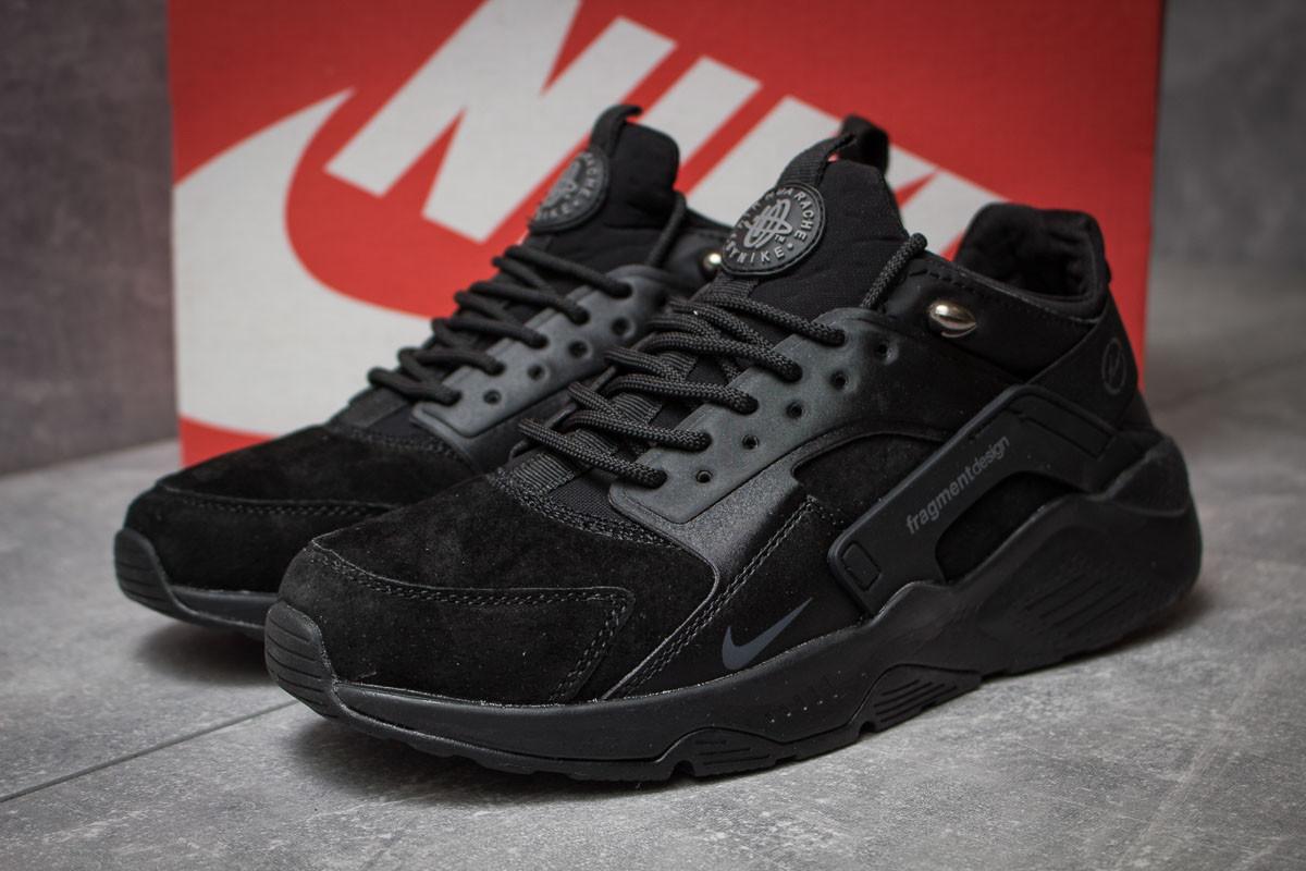 Кроссовки мужские 14032, Nike Air Huarache, черные ( нет в наличии  )