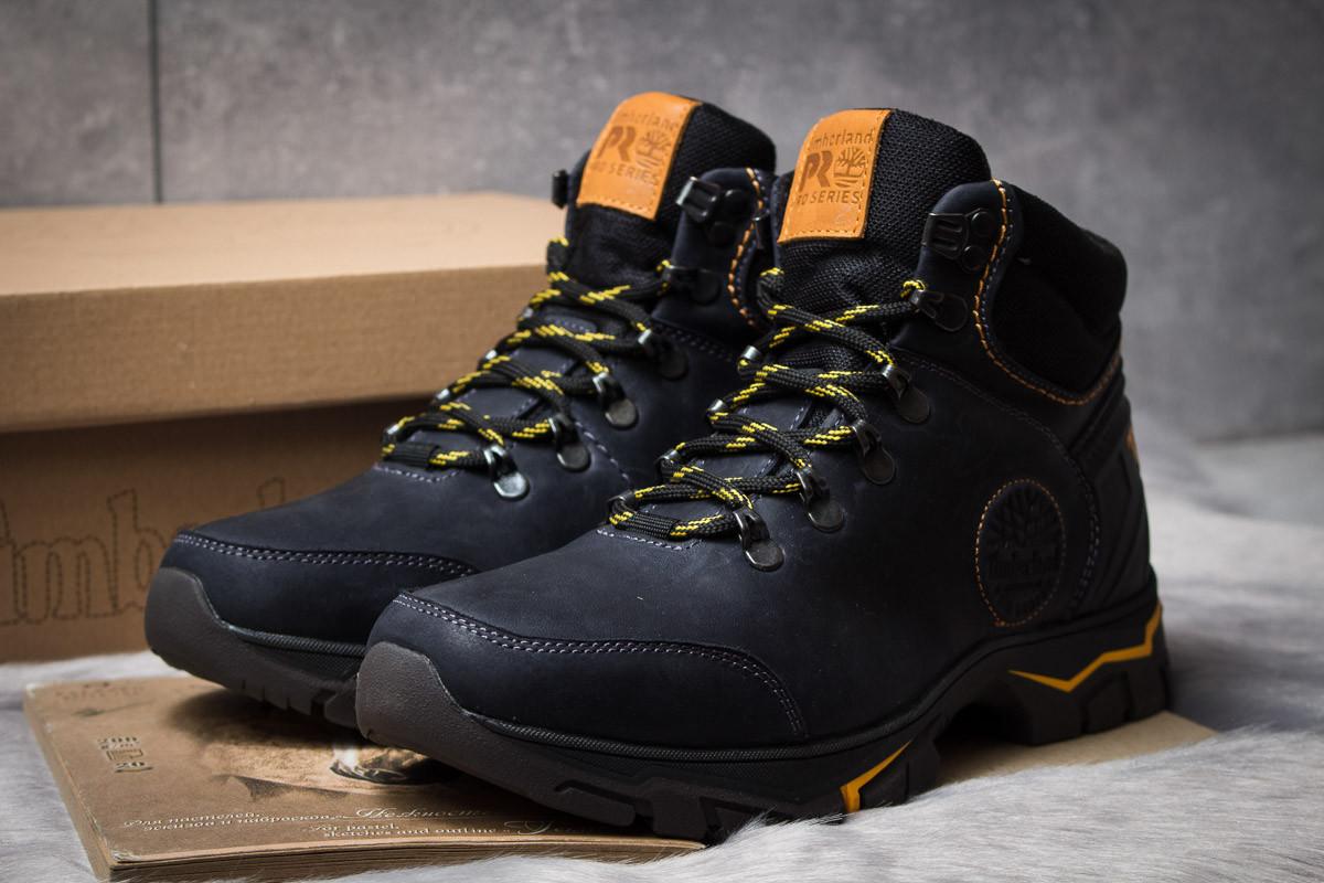 Зимние мужские ботинки 30933, Timberland Pro Series, темно-синие ( нет в наличии  )