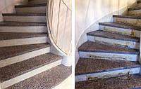 Реставрация лестницы из гранита