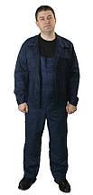 Полукомбинезон с курткой ОТ рабочий ECONOM темно-синий Грета