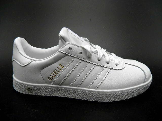 Кроссовки подростковые * Adidas-gazelle ( Реплика) 3089-1 белый *25085